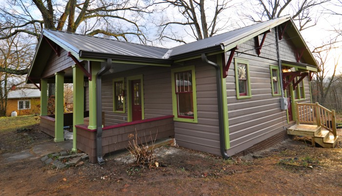asheville exterior home renovation